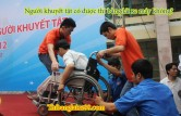 Thi bằng lái xe máy cho người khuyết tật