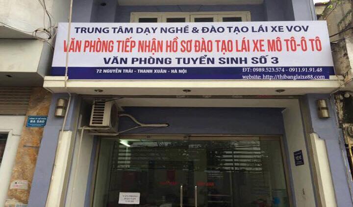 Nơi nộp hồ sơ thi bằng lái xe máy tại Hà Nội